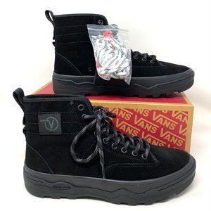 VANS  Sentry Wc Suede Black  Women's SneakerBoot